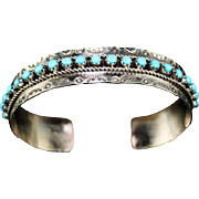 Zuni Petit-Point Bracelet by Jason & Pearl Ukestine