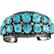 Beautiful Kingman Nugget Bracelet by Melvin Thompson