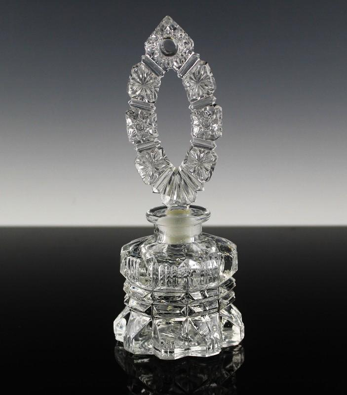 Imperial Glass Perfume Bottle