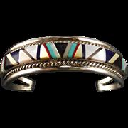 Zuni Multi-Stone Inlay Bracelet