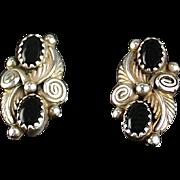 Vintage Navajo Earring by Robert Becenti.