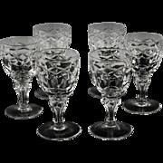 Set of Regal Cordials by Royal Leerdam ca 1948-50's