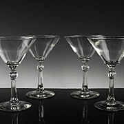 Stardust Martini Glasses by Libbey ca 1949-70's