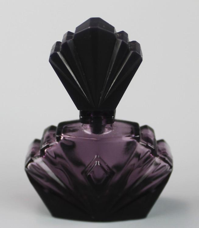 Miniature Amethyst Perfume Bottle ca 1980's