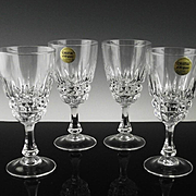 Pompadour Wine Glasses Made in France