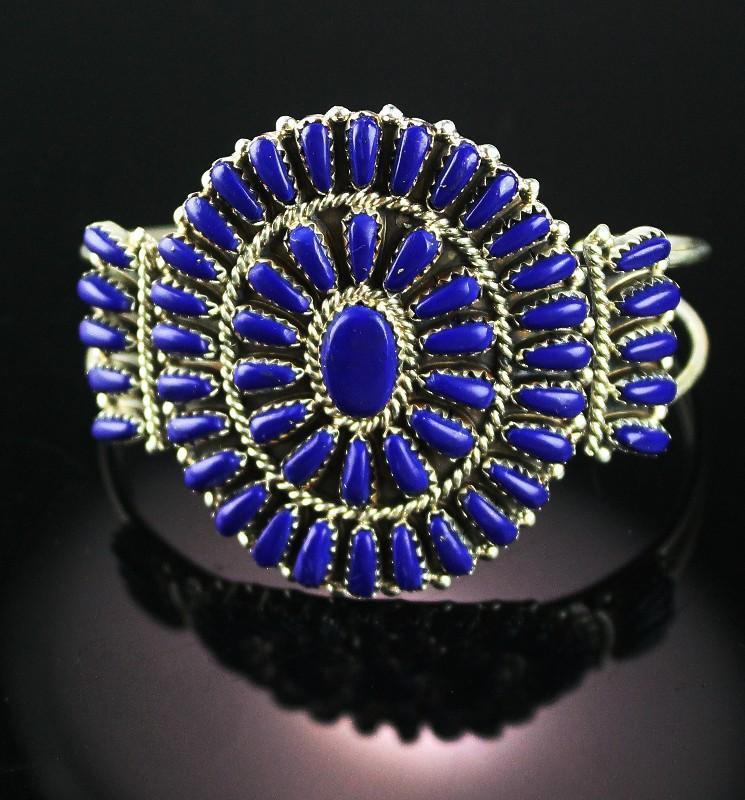 Petite Point Lapis Bracelet