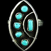 Zuni Petit-Point Ring