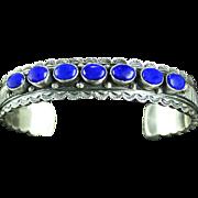 Navajo Lapis Multi-Stone Bracelet