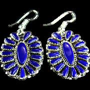 Native American Lapis Earrings