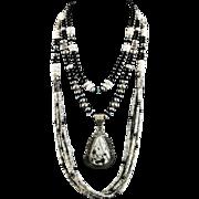 White Fox Creation: White Buffalo Necklace Collection