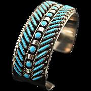 Beautiful Zuni Needle Point Bracelet
