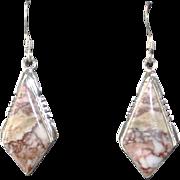 Navajo Wild Horse Magnesite Earrings