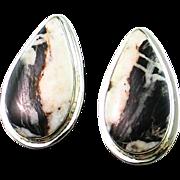 Beautiful White Buffalo Post Earrings