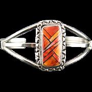 Tri-Color Spiny Oyster Bracelet by Richard Kee