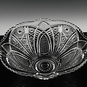 Collectors Crystal Bowl by Imperial Glass ca 1975