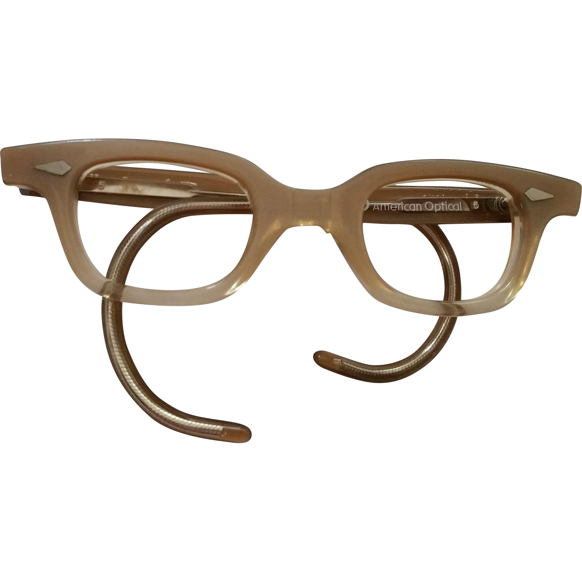 american optical child or baby size glass frames