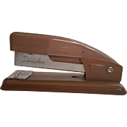 Vintage Swingline 99 Stapler Smaller Size Bronze Paint Industrial Office Supplies