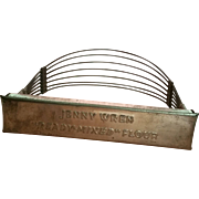 Jenny Wren Flour Advertising Pastry Cutter Lawrence Kansas Advertising