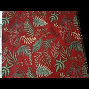 Fair Oaks by Waverly Screen Print 100% Cotton Vat Dyes 2 pieces 12.5 yds total