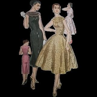 Simplicity 1868 Dress Pattern Two Skirt Styles
