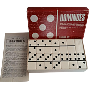 Vintage Dominoes by Puremco of Purmawear 9x9 Standard Size Double 9