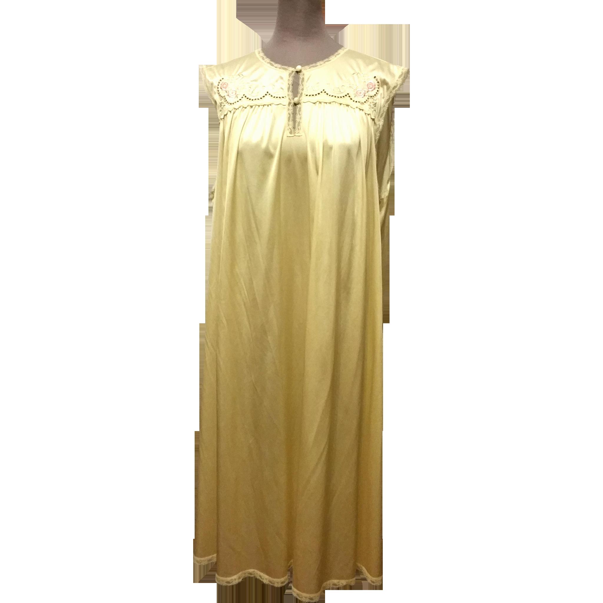 Vintage Vanity Fair Nightgown 60