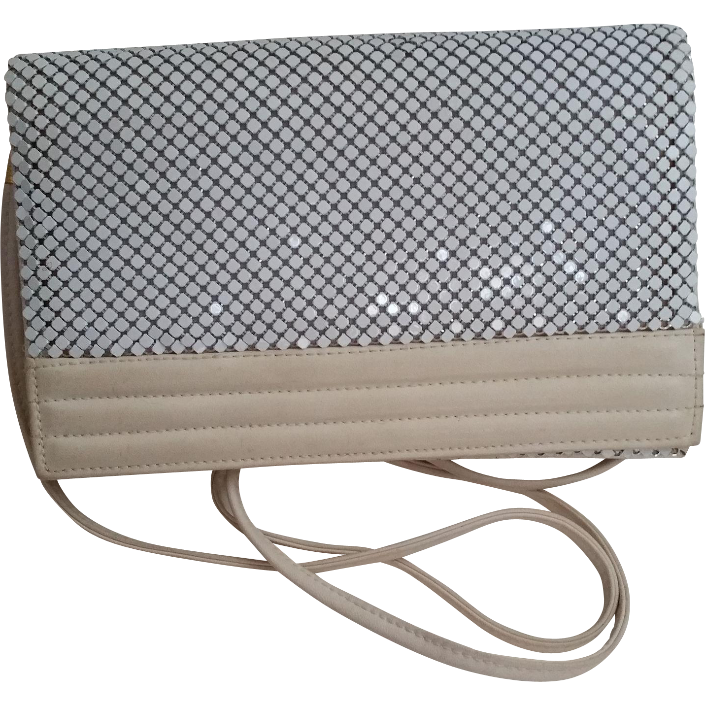 Whiting and Davis Cross Body or Clutch Purse Handbag