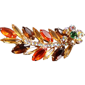 Juliana D and E Pin DeLizza and Elster Brooch