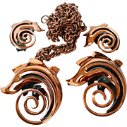 Rame Copper Jewelry 3 pc Set