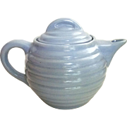 Hall 662 Teapot Light Blue Ringware Made in USA - Red Tag Sale Item