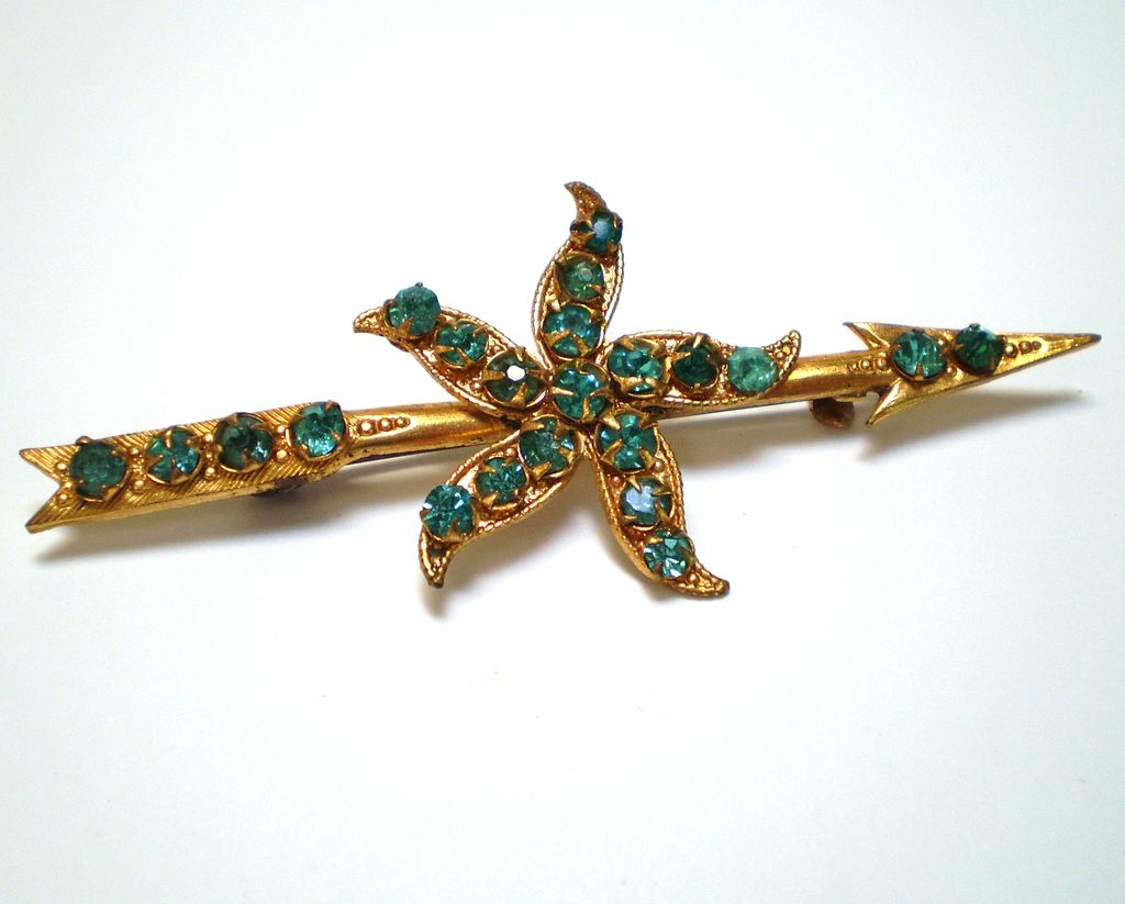 Deco-Era Arrow Brooch/Pin