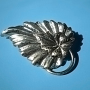 Danecraft Sterling Leaf Pin/Brooch