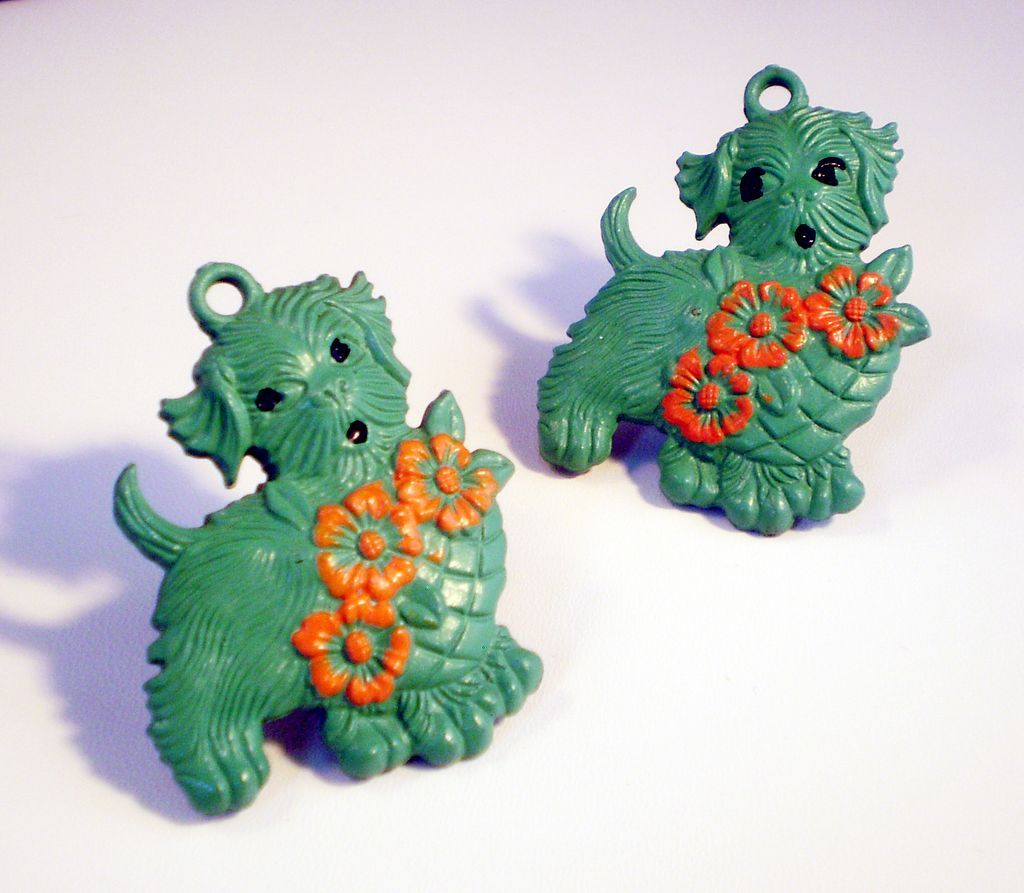 Scottie Dog Curtain Tie Backs (pair)