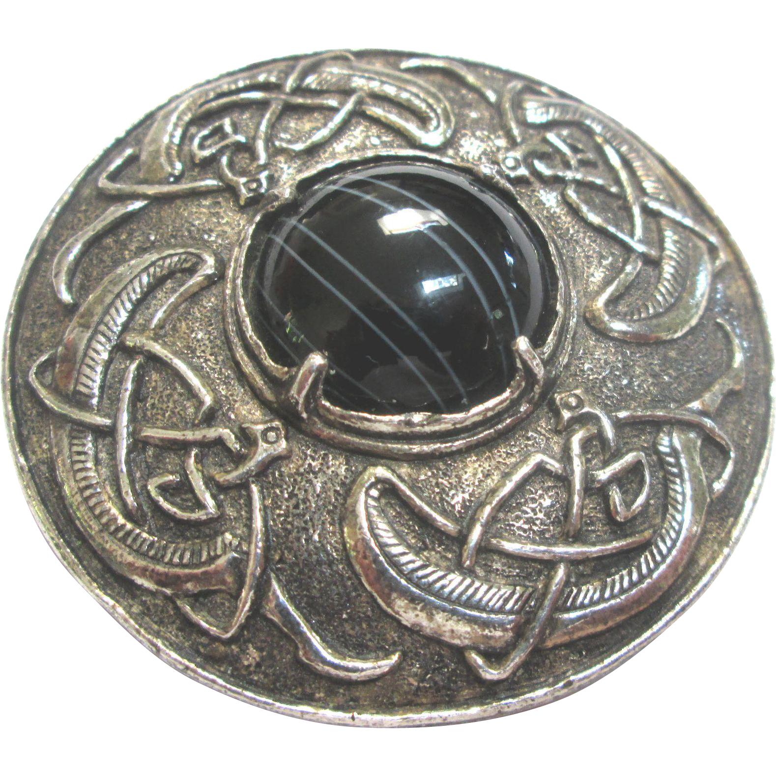 Miracle Brooch/Pendant with Celtic Design
