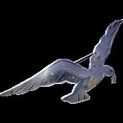 Large Sterling Sea Gull Brooch