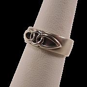 Satin Finish Sterling Celtic Knot Ring