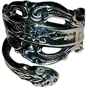 Cellini Sterling By-Pass Ring