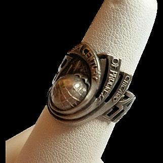 Century of Progress Chicago 1934 World's Fair Ring