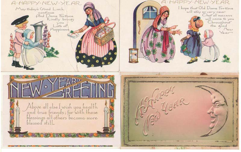 New Year's Postcards