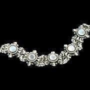 Cini Moonstone Sterling Bracelet