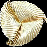Fabulous Tiffany 14K Pinwheel Brooch