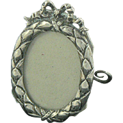 Antique Photo Frame 800 Silver German