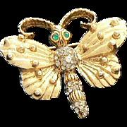 Hobe Butterfly Brooch