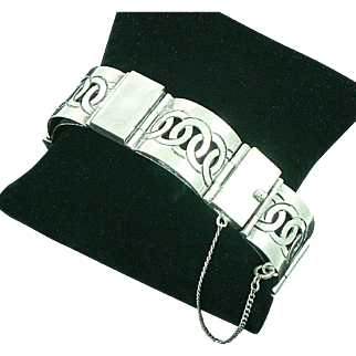 Mexican Sterling Silver Bracelet by Victoria