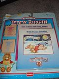 NRFB Smaller Teddy Ruxpin Tapes and Books