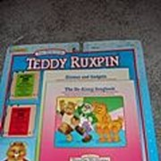 NRFB Two Smaller Teddy Ruxpin Tapes and Books