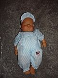 """MIB 12"""" Wind Up Lissi Baby Boy Doll"""