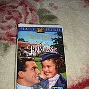 "NRFP Shirley Temple VHS Tape ""The Little Princess"""