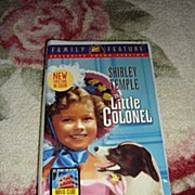 "NRFP Shirley Temple VHS Tape ""The Little Colonel"" - Red Tag Sale Item"
