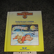 "WOW Teddy Ruxpins Book and Tape- ""Teddy Ruxpin Lullabies"""
